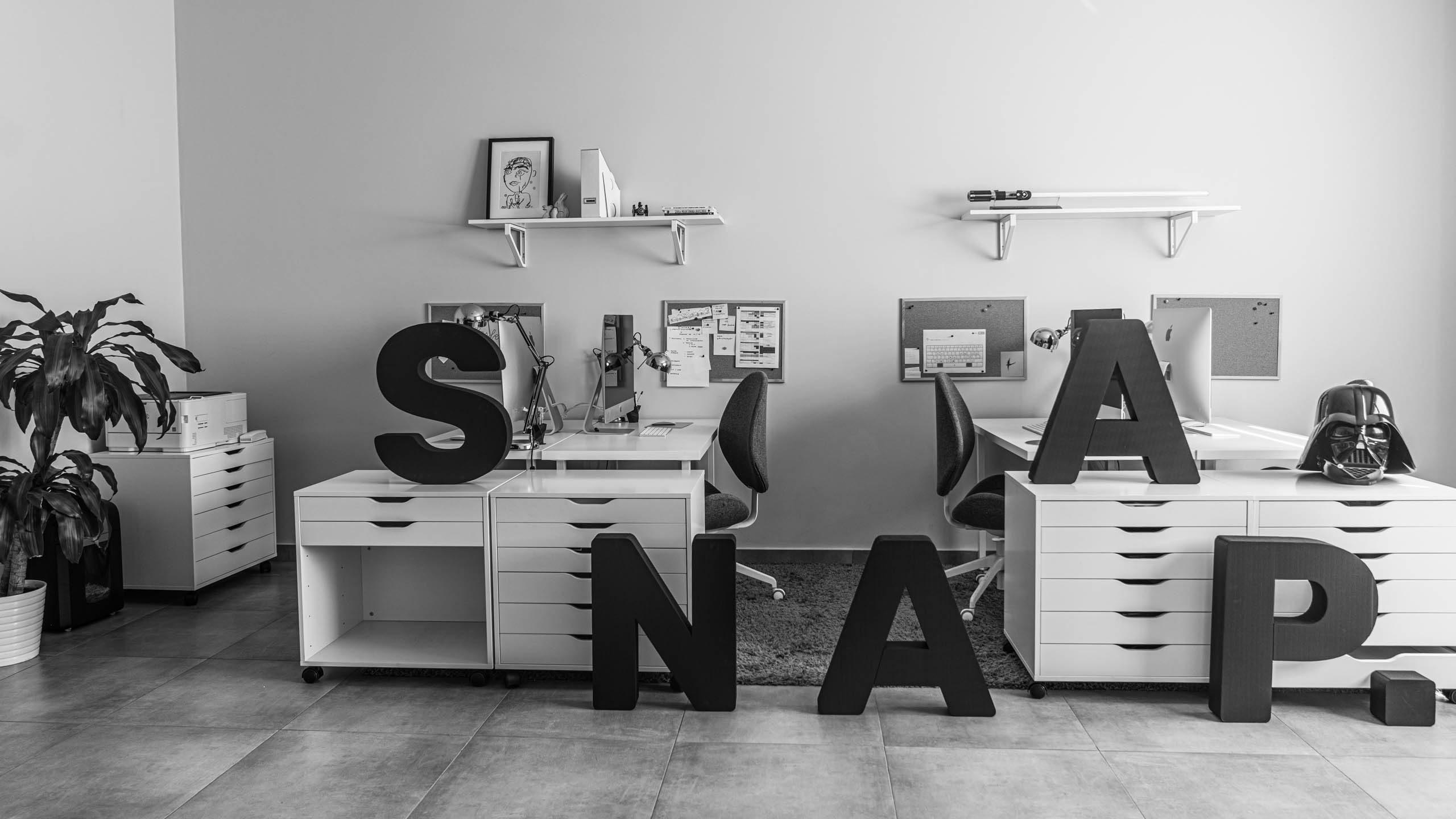 Biuro interaktywnej agencji reklamowej i marketingowej SNAAP